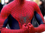 fotos detrás escena para Amazing Spiderman