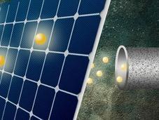 Técnica fotovoltaica para obtener cada fotón electrones