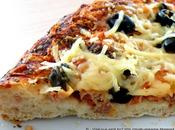 Pizza atún pizza chorizo