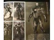 Varios diseños conceptuales, storyboards Iron