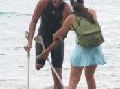 pierna atleta panameño nada kilómetros Océano Pacífico