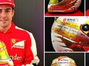 Cascos especiales pilotos para Mónaco 2013