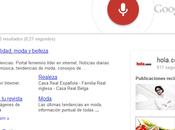 Ahora buscador Google escucha hablar responde alta