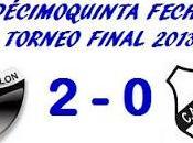Colón:2 Boys:0 (Fecha 15°)