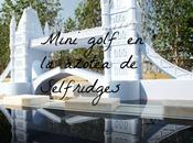 Mini golf azotea Selfridges