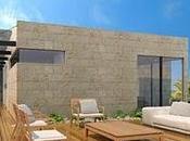 Moderna Terraza Casa Render