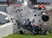 Mark Webber sufre aparatoso accidente Valencia