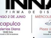 Firma Autografos INNA Acapulco Mexico