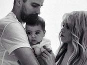 Foto familia: Gerard Piqué, Shakira Milan