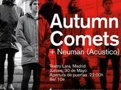Autumn Comets Neuman Teatro Lara mayo)