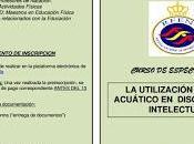 Curso especialización: Natación Discapacitados intelectuales