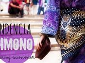 Tendencia Spring Summer Kimono 2013