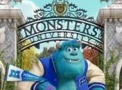 Clip Mike Sulley durante clase sustos Monstruos University