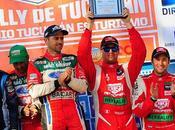 Nicolás fuchs obtuvo tercer lugar rally tucumán argentina. válido campeonato argentino