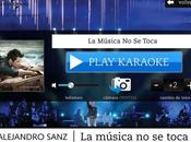 Música toca, Karaoke Alejandro Sanz
