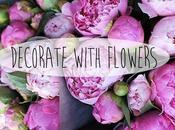 decorar flores