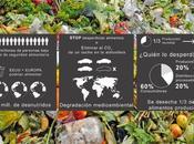 Despilfarro cadena alimentaria: tercio alimentos basura