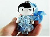 Mageritdoll Collection: Inspired Laia Mauri. doll Brooch Necklace
