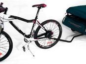 Remolque para bicicleta tienda campaña