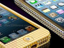 Modelos cubiertos diamante iPhone
