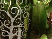 quiero hablar Green Glass (artesanos reciclan botellas vidrio) hermosos originales trabajos