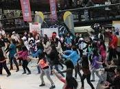"""jóvenes adultos mayores magallanes participaron """"flashmob"""""""
