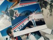 boda maleta vintage llena fotos