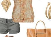 Outfit verano short, polo gasa accesorios