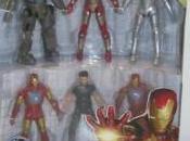 Imagen múltiples armaduras Iron Hasbro