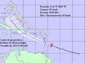 Caribe ante inminente llegada tormenta tropical Chantal