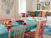 Comedores sillas diferentes colores