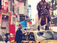 Cara Delevingne DKNY Fall 2013 Campaign