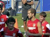Simeone ensaya centros remates tercera sesión