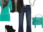 Conjunto invierno verde saco (juego ropa)
