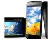 """Dash 4.5: teléfono Android desbloqueado pantalla 4,5"""" procesador núcleos $139"""