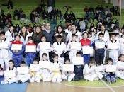 Casi niños niñas participaron primer campeonato taekwondo