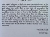 Kubrick presenta Kieslowski