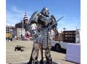 [SDCC2013] Estatua gigante Samurái Plata Lobezno Inmortal