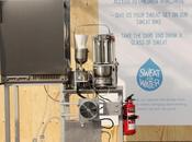 Máquina convierte sudor agua potable