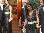 Arriesgado modelito DANIELLA SEEMAN boda Xavi Hernández