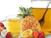 Infusiones frutas ayudan bajar peso