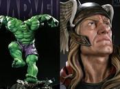 Nuevas figuras Thor Hulk Sideshow