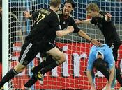 Alemania derrota Uruguay quedando tercer puesto