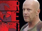 Póster 'Red', nueva película Bruce Willis.