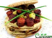 Sandwich Gourmet. Original Hummus Chistorra
