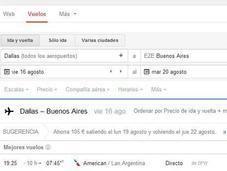 Google actualiza buscador vuelos incluyendo Sugerencia, donde muestra baratos otras ofertas