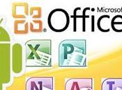 Microsoft Office para Android disponible.