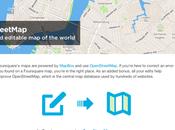 Foursquare incorpora botón para editar data OpenStreetMap