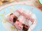 Sándwich Brownie helado frambuesa
