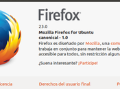 Disponible Mozilla Firefox Ubuntu